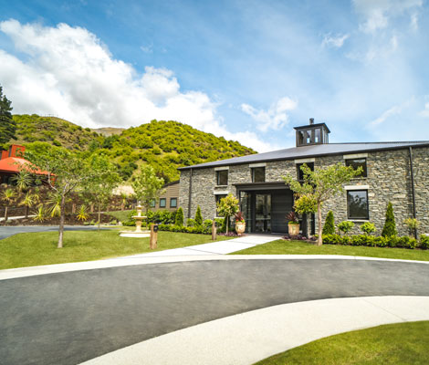 Gibbston Valley Lodge and Spa - Exterior and Entrance
